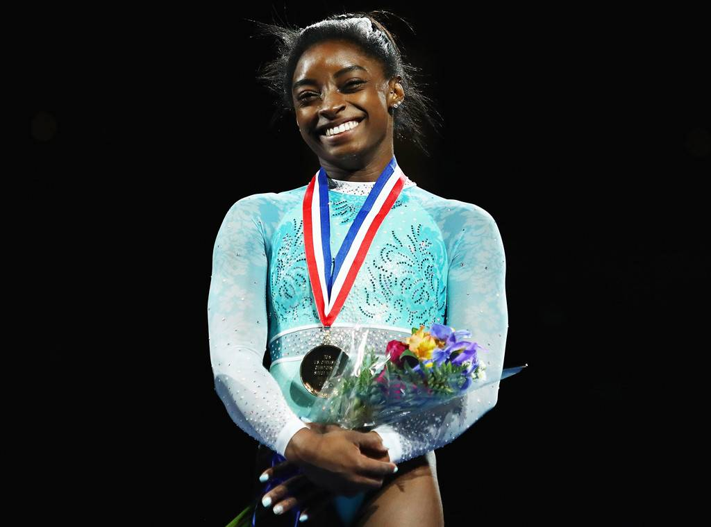 'I Stand With Them.' Simone Biles Wears Teal Leotard in Solidarity With Gymnasts Abused